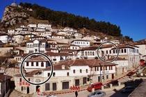 Ospitato in 2 edifici storici nel cuore di Berat, a 200 metri dal fiume Osum, l'Hotel Osumi offre il WiFi gratuito e camere climatizzate con minib