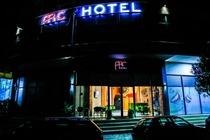 Arc Hotel Tirana provides accommodation with a bar, free private parking and a shared lounge.Booking Albania Tirane