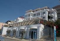 Hotel Erdano in Saranda, Albania vi da il benvenuto. La descrizione e prezzi di Hotel Erdano