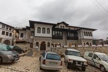 Situato a Berat, a circa 2 minuti a piedi dal fiume Osum, l'Hotel Onufri a 4 stelle offre un salone in comune, un bar, un ristorante in loco e la