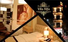 Dotato di un salone in comune, l'Hotel Vila Alfa si trova a Korçë. A vostra disposizione una reception aperta 24 ore su 24 e un ristorante.